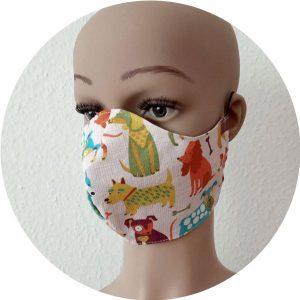 Mund- und Nasenbedeckung: Hilfe in der Corona-Krise